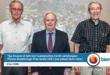 Photo of Tiga Ilmuwan di Balik Teori Supergravitasi Raih Penghargaan