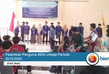 Photo of Bem Unbaja Periode 2019-2020 Resmi Dikukuhkan