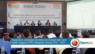 Pleno DPRD Kabupaten Serang