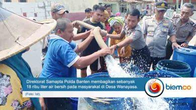 polda banten air bersih