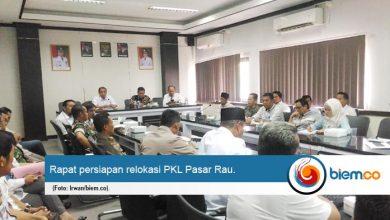 Perdana Dikepemimpinan 'Aje Kendor' Ratusan PKL Pasar Rau akan di Relokasi