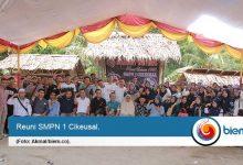Setelah 21 Tahun, Alumni 98 SMPN 1 Cikeusal gelar Reuni Perdana