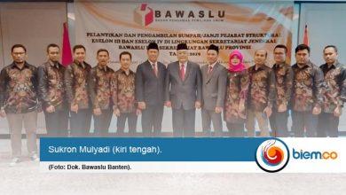 Sukron Mulyadi Definitif Jabat Kasubag Bawaslu Banten