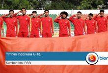 Timnas Indonesia U18.