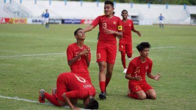 Photo of Pesta Gol ke Gawang Filipina, Timnas U-15 Indonesia Selangkah Lebih Dekat dengan Semifinal
