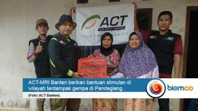 act banten bantuan gempa