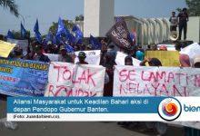 Photo of Puluhan Nelayan Banten Aksi Tolak Raperda RZWP3K