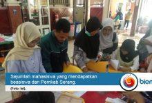 Photo of 88 Mahasiswa Kabupaten Serang Terima Beasiswa