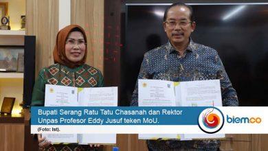 Photo of Jalin Kerja Sama, Pemkab Serang dan Unpas Teken MoU