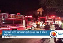 Photo of Empat Bangunan di Kota Serang Hangus Dilalap Si Jago Merah