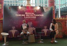 Musical Dancing Water Fountain mal teraskota