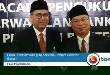 Erwin Soeriadimadja dan Rahmat Hernowo