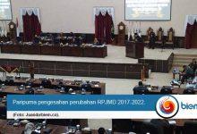 Photo of Raperda Tentang Perubahan RPJMD 2017-2022 Disetujui DPRD Banten