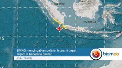 Tsunami Gempa Banten