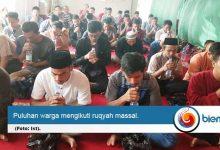 Puluhan Warga Komplek Kedaton Grande Ikut Ruqyah Massal di Masjid Ashabul Jannah