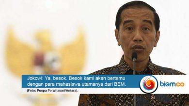 Photo of Besok, Jokowi Temui Perwakilan BEM Bahas RUU yang Dinilai Kontroversial