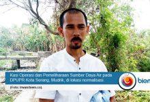 DPUPR Kota Serang Lakukan Normalisasi Saluran Pembuangan Induk Kaligandu