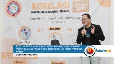 Photo of Dari Kisah Pipo dan Embro, Irvan Hq Ajarkan Relawan Literasi Arti Sebuah Usaha