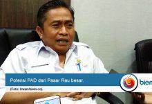 Pemkot Harapkan Relokasi PKL Pasar Rau Berbuah PAD