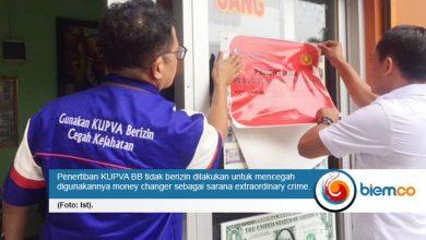 Cegah Pencucian Uang, BI Banten Lakukan Penertiban Kegiatan Usaha Penukaran Valuta Asing Bukan Bank