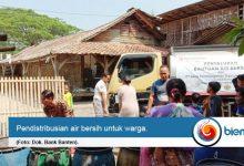 bank Banten salurkan air bersih