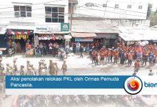 Penolakan relokasi PKL