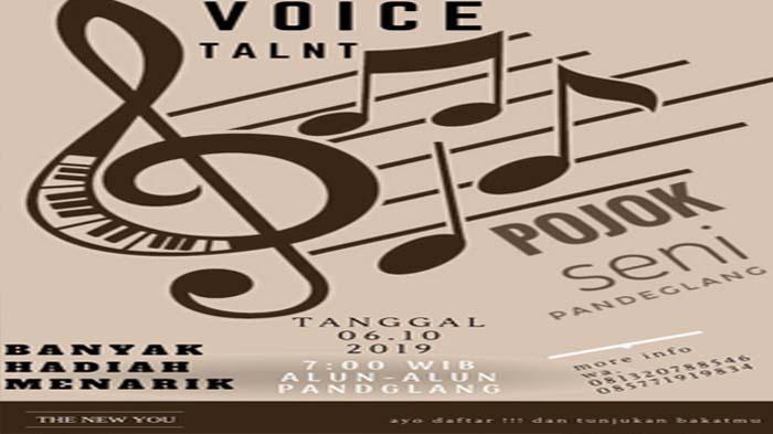 Suka Bernyanyi? Ikuti Pojok Seni Voice Talent