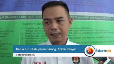 KPU Kabupaten Serang Minta Anggaran Tambahan Asuransi dan PSU
