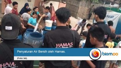 Photo of Bantu Kekeringan, Hamas Salurkan Air Bersih
