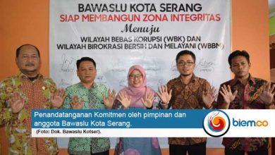 Bawaslu Kota Serang Komitmen Bangun Zona Integritas WBK