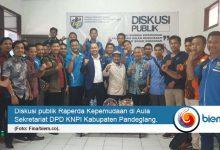 DPD KNPI Pandeglang Dorong Raperda Kepemudaan
