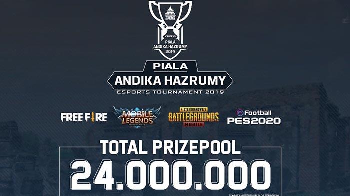 Seragon E-Sport Persembahkan: Piala Andika Hazrumy E-Sport Tournament 2019