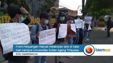 Front Perjuangan Rakyat Tuntut Pemerintah Tanggulangi Bencana Asap