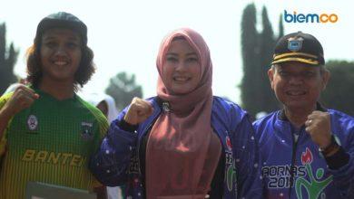 Perayaan Hari Olahraga Nasional 2019 di Kabupaten Pandeglang