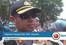 Amankan Demo, Polres Serang Kota Turunkan 150 Personel