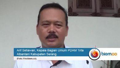 Imbas Kemarau Panjang, PDAM Tirta Albantani Kesulitan Pasokan Air