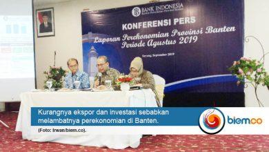 Photo of Pertumbuhan Ekonomi Banten Pada Triwulan II 2019 Melambat