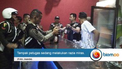 Satpol PP Provinsi Banten Berhasil Amankan Ratusan Miras