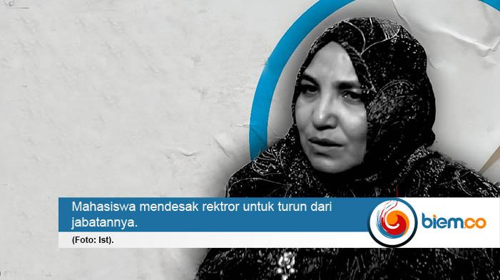 Mahasiswa UIN Jakarta Desak Rektor Mundur