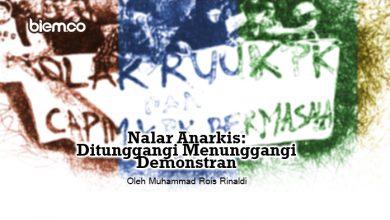 Photo of Muhammad Rois Rinaldi: Nalar Anarkis; Ditunggangi Menunggangi Demonstran