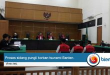 Terdakwa Pungli Korban Jenazah Tsunami Banten Dituntut 1,5 Tahun Penjara