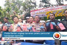 Photo of Polda Banten Ungkap Curanmor 230 Kendaraan dan 97 Tersangka
