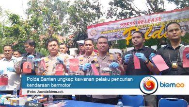 Polda Banten berhasil ungkap Curanmor sebanyak 230 kendaraan dan 97 tersangka