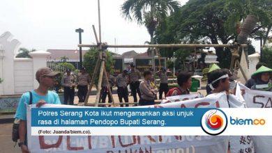 Polres Serang Kota Amankan Aksi Mapala Banten