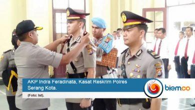 Photo of AKP Indra Feradinata Jadi Kasat Reskrim Baru Polres Serang Kota