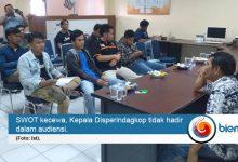 Tanyakan Nasib PKL Eks Stadion, SWOT Sambangi Disperindagkop