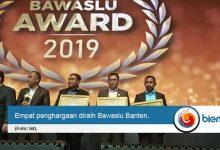 Bawaslu Banten Raih Empat Penghargaan Tingkat Nasional
