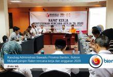 Samakan Persepsi, Bawaslu Provinsi Banten Gelar Raker Rencana Kerja dan Anggaran 2020
