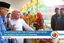 Photo of Pemkab Serang, BUMD, dan BUMN Bersinergi Gelar Baksos