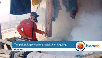 Photo of Tindaklanjuti Keluhan DBD, Pemkot Serang Lakukan Fogging
